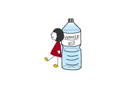wasser und maedchen 水と女の子