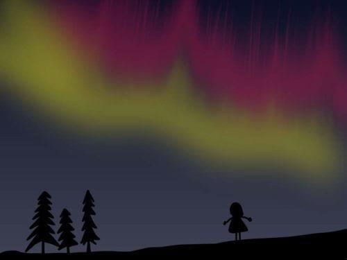 Polarlichtオーロラ