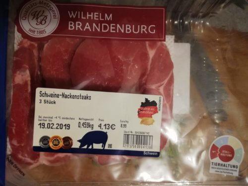 sSchweinenackensteaks