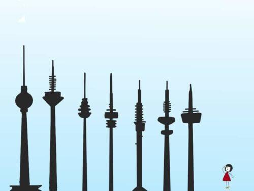 ドイツの高いテレビ塔トップ7