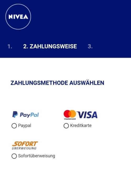 ニベア 支払方法
