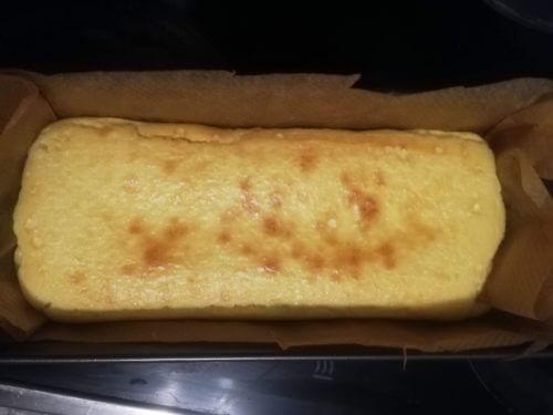 チーズケーキ完成