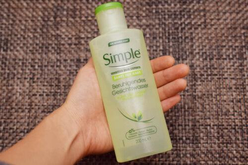 Simpleの化粧水