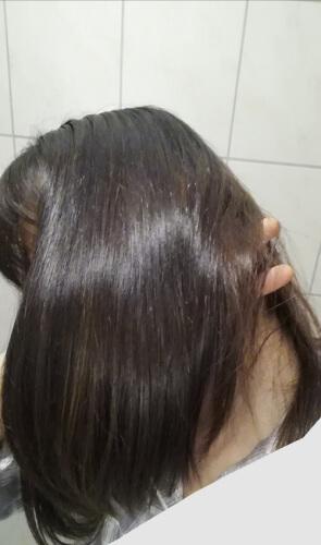 髪の毛つやつや